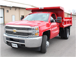 2017 Silverado 3500 Regular Cab DRW 4x4, Rugby Z-Spec Dump Body #17C306T - photo 6