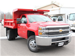2017 Silverado 3500 Regular Cab DRW 4x4, Rugby Z-Spec Dump Body #17C306T - photo 9