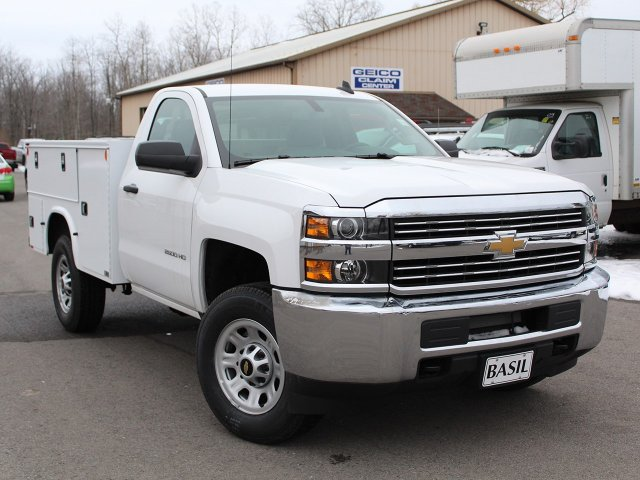 2017 Silverado 2500 Regular Cab 4x4, Knapheide Service Body #17C316T - photo 10