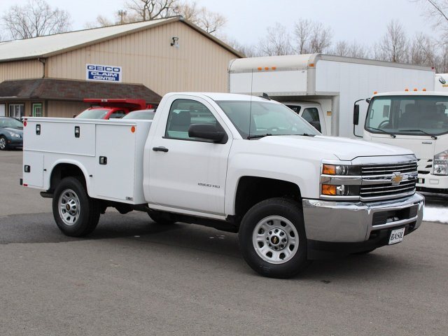 2017 Silverado 2500 Regular Cab 4x4, Knapheide Service Body #17C316T - photo 23