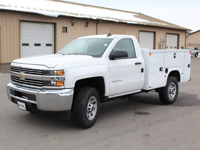 2017 Silverado 2500 Regular Cab 4x4, Knapheide Service Body #17C316T - photo 3