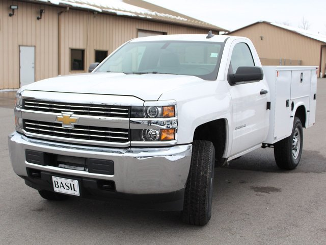 2017 Silverado 2500 Regular Cab 4x4, Knapheide Service Body #17C316T - photo 7