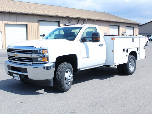 2017 Silverado 3500 Regular Cab DRW 4x4, Knapheide Standard Service Body #17C317T - photo 3