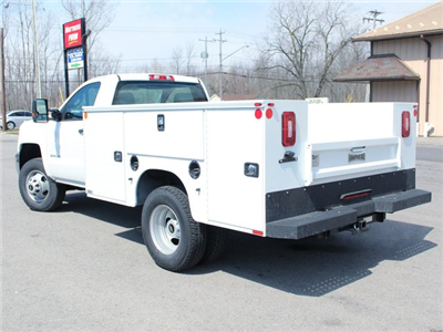 2017 Silverado 3500 Regular Cab DRW 4x4, Knapheide Standard Service Body #17C317T - photo 14