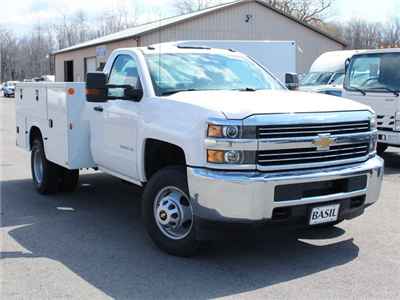 2017 Silverado 3500 Regular Cab DRW 4x4, Knapheide Standard Service Body #17C317T - photo 7