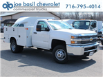 2017 Silverado 3500 Regular Cab DRW 4x4, Knapheide Standard Service Body #17C317T - photo 1