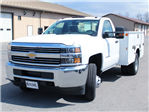 2017 Silverado 3500 Regular Cab DRW 4x4, Knapheide Standard Service Body #17C317T - photo 6