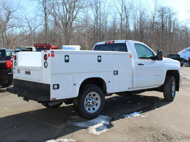 2017 Silverado 3500 Regular Cab 4x4,  Knapheide Standard Service Body #17C318T - photo 2
