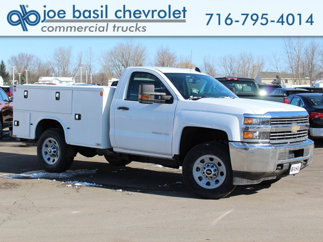 2017 Silverado 3500 Regular Cab 4x4,  Knapheide Standard Service Body #17C318T - photo 1