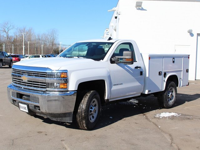 2017 Silverado 3500 Regular Cab 4x4,  Knapheide Standard Service Body #17C318T - photo 3