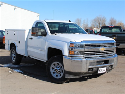 2017 Silverado 3500 Regular Cab 4x4,  Knapheide Standard Service Body #17C318T - photo 13