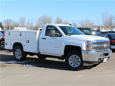 2017 Silverado 3500 Regular Cab 4x4,  Knapheide Standard Service Body #17C318T - photo 26