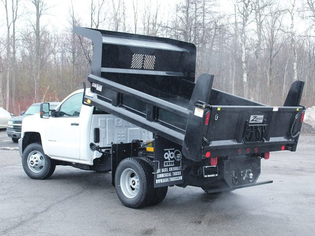 2017 Silverado 3500 Regular Cab DRW 4x4, Rugby Dump Body #17C319T - photo 13