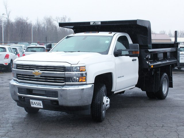 2017 Silverado 3500 Regular Cab DRW 4x4, Rugby Dump Body #17C319T - photo 14