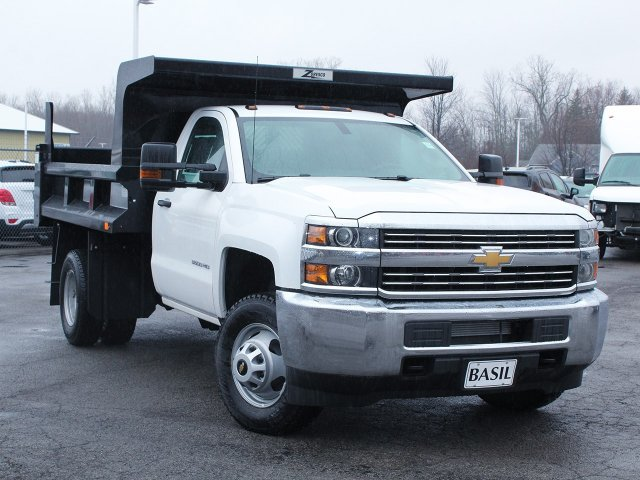 2017 Silverado 3500 Regular Cab DRW 4x4, Rugby Dump Body #17C319T - photo 15