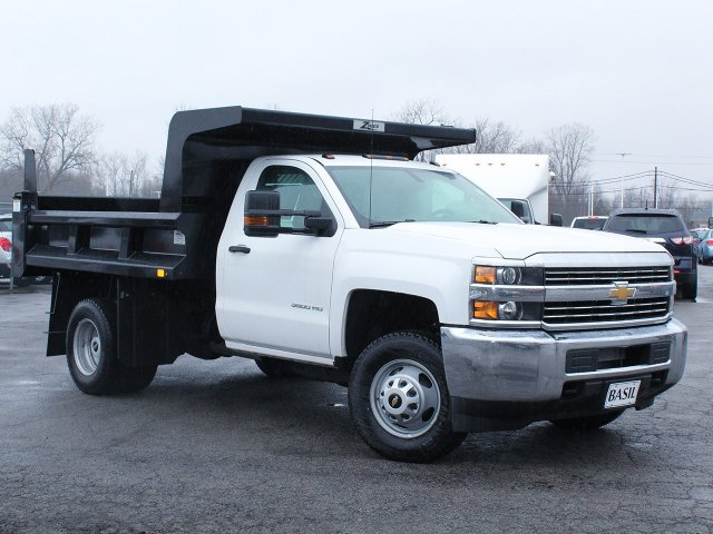 2017 Silverado 3500 Regular Cab DRW 4x4, Rugby Dump Body #17C319T - photo 29