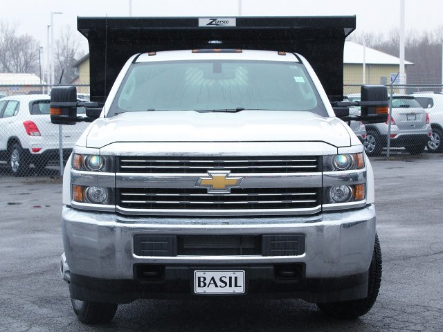 2017 Silverado 3500 Regular Cab DRW 4x4, Rugby Dump Body #17C319T - photo 5
