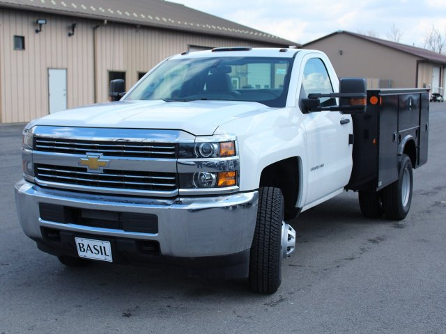 2017 Silverado 3500 Regular Cab DRW 4x4, Knapheide Service Body #17C323T - photo 16