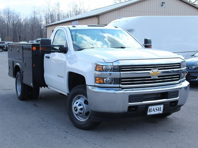 2017 Silverado 3500 Regular Cab DRW 4x4, Knapheide Service Body #17C323T - photo 17