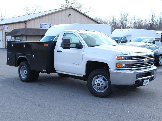 2017 Silverado 3500 Regular Cab DRW 4x4, Knapheide Service Body #17C323T - photo 28