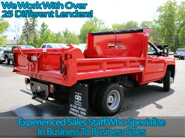 2017 Silverado 3500 Regular Cab DRW 4x4, Crysteel Dump Body #17C36T - photo 2
