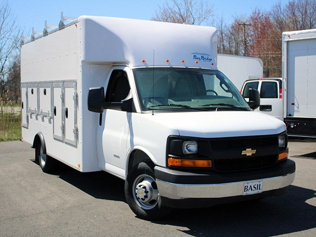 2017 Express 4500, Bay Bridge Service Utility Van #17C40T - photo 9