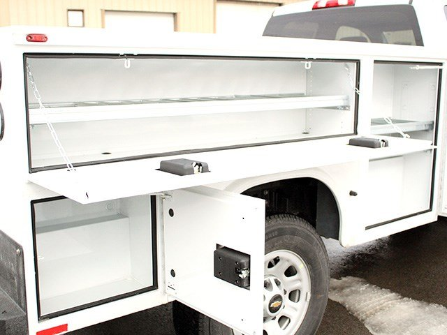 2017 Silverado 3500 Double Cab 4x4, Knapheide Service Body #17C41T - photo 10