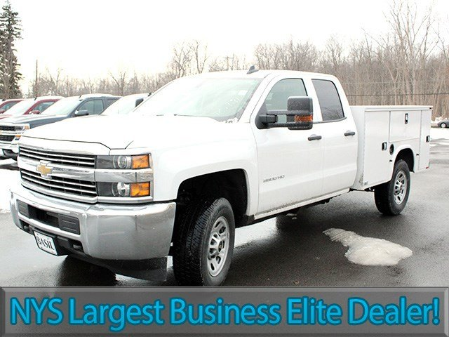 2017 Silverado 3500 Double Cab 4x4, Knapheide Service Body #17C41T - photo 3
