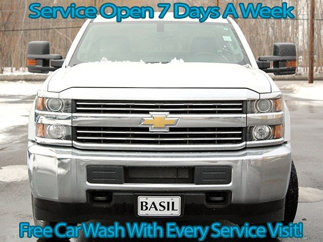 2017 Silverado 3500 Double Cab 4x4, Knapheide Service Body #17C41T - photo 4