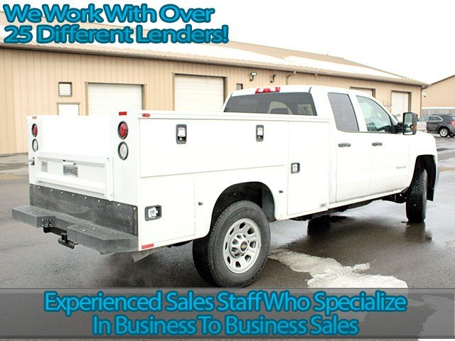 2017 Silverado 3500 Double Cab 4x4, Knapheide Service Body #17C41T - photo 2