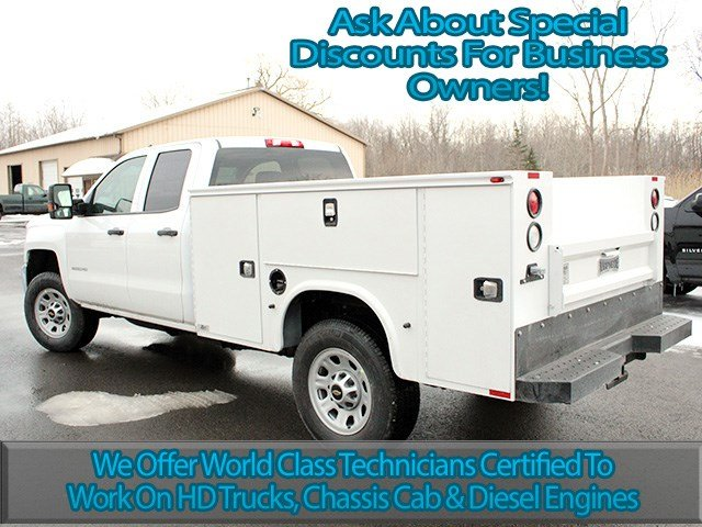 2017 Silverado 3500 Double Cab 4x4, Knapheide Service Body #17C41T - photo 6