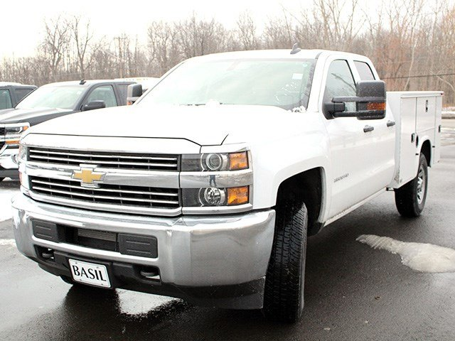 2017 Silverado 3500 Double Cab 4x4, Knapheide Service Body #17C41T - photo 7