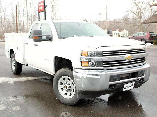 2017 Silverado 3500 Double Cab 4x4, Knapheide Service Body #17C41T - photo 8