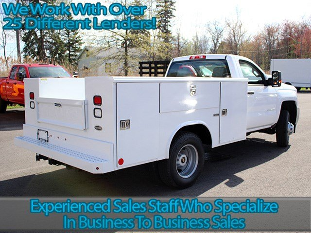 2017 Silverado 3500 Regular Cab DRW 4x4, Reading Service Body #17C62T - photo 2