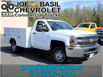 2017 Silverado 3500 Regular Cab DRW 4x4, Reading Service Body #17C62T - photo 1