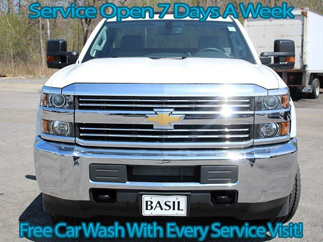 2017 Silverado 2500 Regular Cab 4x4, Knapheide Service Body #17C72T - photo 4