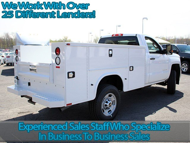 2017 Silverado 2500 Regular Cab 4x4, Knapheide Service Body #17C72T - photo 2