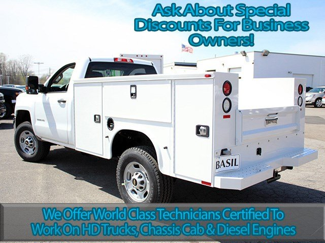 2017 Silverado 2500 Regular Cab 4x4, Knapheide Service Body #17C72T - photo 6