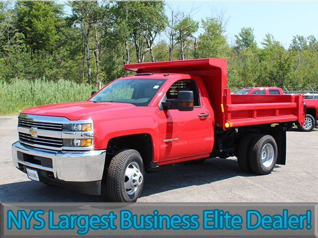 2017 Silverado 3500 Regular Cab DRW 4x4, Air-Flo Dump Body #17C76T - photo 3