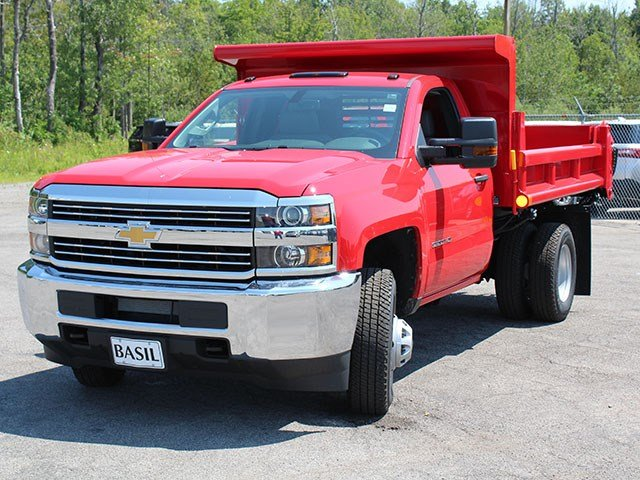 2017 Silverado 3500 Regular Cab DRW 4x4, Air-Flo Dump Body #17C76T - photo 7
