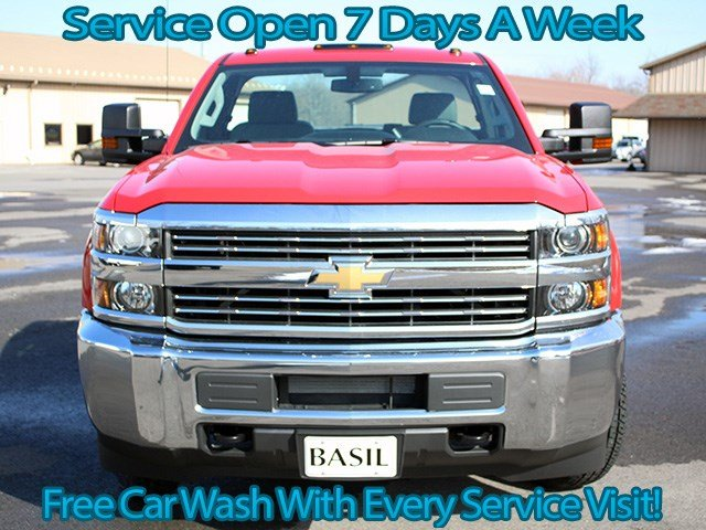 2017 Silverado 3500 Regular Cab 4x4, Cab Chassis #17C76T - photo 4