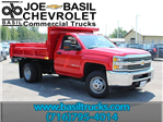 2017 Silverado 3500 Regular Cab DRW 4x4, Air-Flo Dump Body #17C76T - photo 1