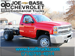 2017 Silverado 3500 Regular Cab 4x4, Cab Chassis #17C76T - photo 1