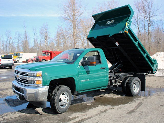 2017 Silverado 3500 Regular Cab 4x4, Air-Flo Dump Body #17C81T - photo 11