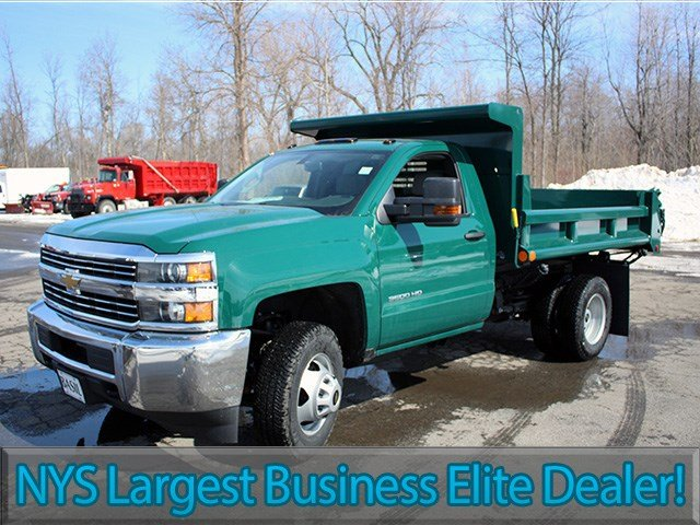 2017 Silverado 3500 Regular Cab 4x4, Air-Flo Dump Body #17C81T - photo 3