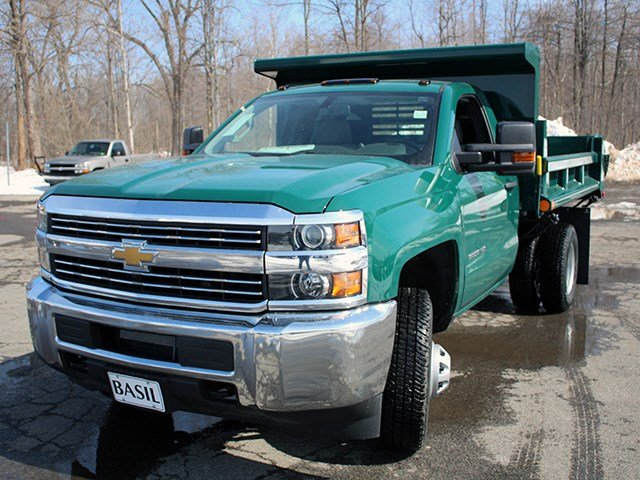2017 Silverado 3500 Regular Cab 4x4, Air-Flo Dump Body #17C81T - photo 7