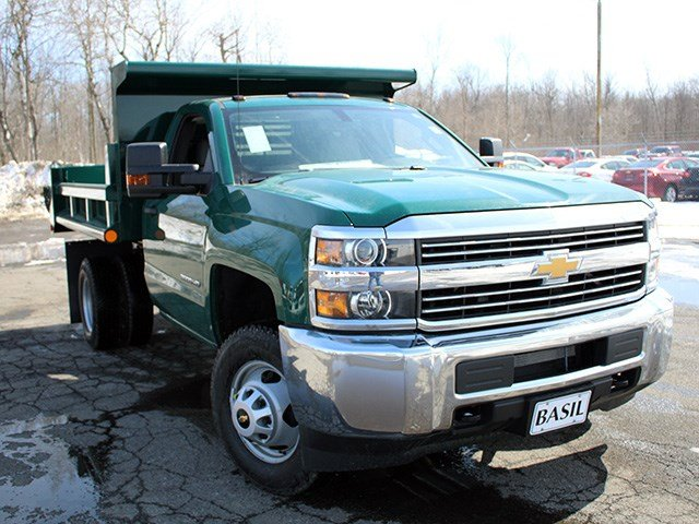 2017 Silverado 3500 Regular Cab 4x4, Air-Flo Dump Body #17C81T - photo 8