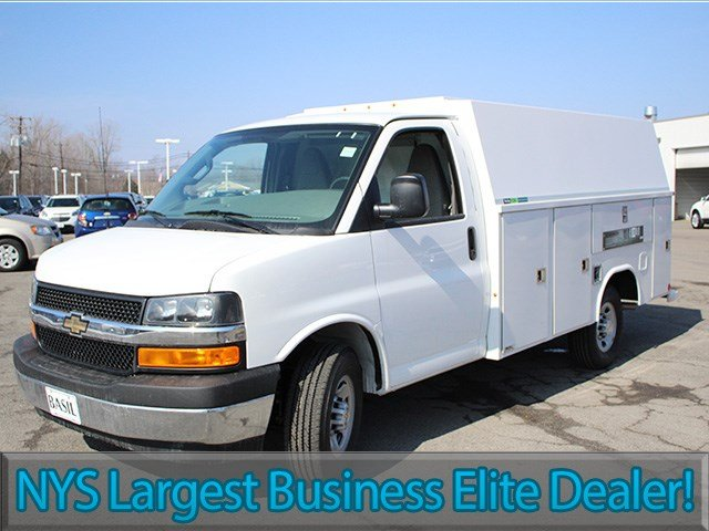 2017 Express 3500, Reading Service Utility Van #17C85T - photo 3