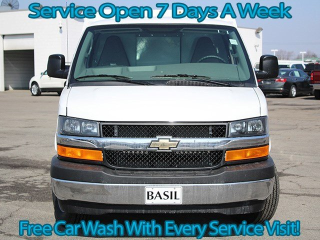 2017 Express 3500, Reading Service Utility Van #17C85T - photo 4