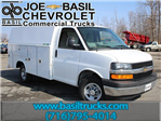 2017 Express 3500, Reading Service Utility Van #17C85T - photo 1